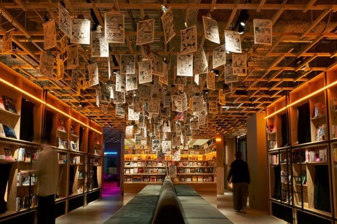 泊まれる本屋「ブックアンドベッドトウキョウ」