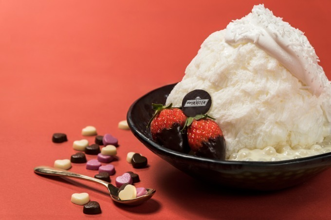 ホワイトチョコレートかき氷