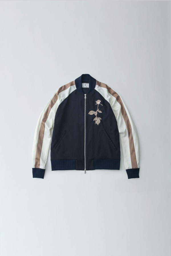 Embroidered Blouson 32,000円