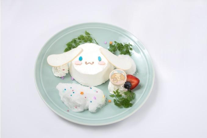 シナモロールカフェのケーキ