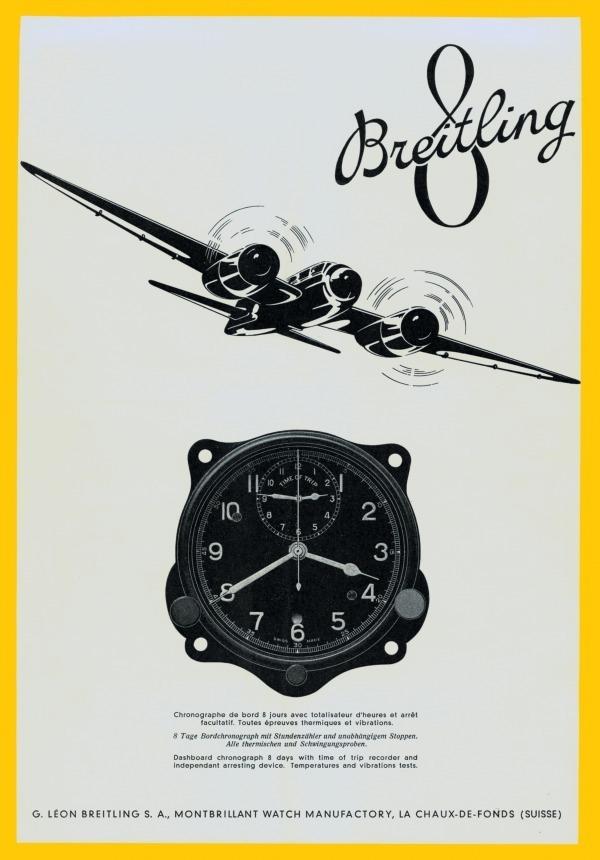 1941年の「ユイット・ア ビエーション」の広告
