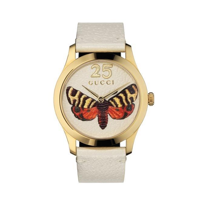 グッチ新作時計、ビーやバタフライが現れるユニセックスモデルや鮮やかなカラー