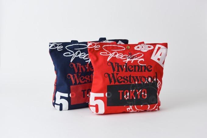 ヴィヴィアン・ウエストウッド ギンザ シックス店1周年記念バッグ 各18,000円+税