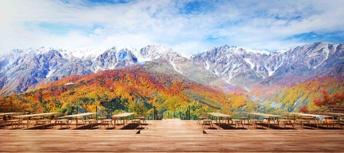 絶景テラス「ハクバ マウンテンハーバー」長野・白馬岩岳山頂に、ザ シティ ベーカリーも出店 - 写真2