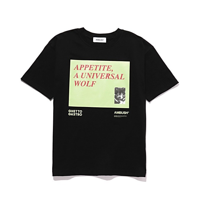 AMBUSH × GHETTO GASTRO T-SHIRT 8,640円(税込)