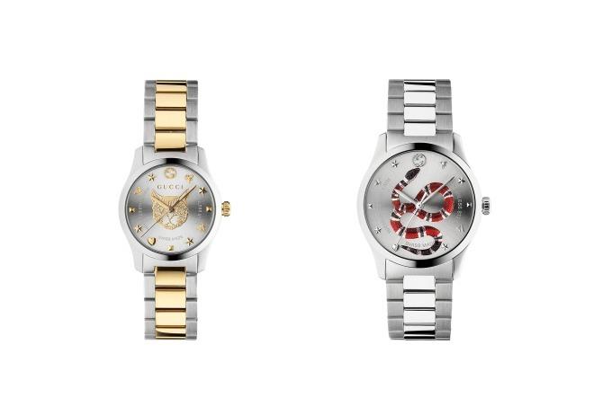 グッチの新作腕時計 , \u201cGGロゴ\u201dのホログラム仕様\u0026キャットヘッドや