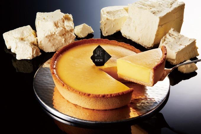 パブロからじっくり焼き上げた新チーズタルト「パブロリッチ」誕生