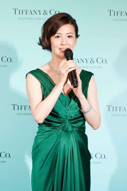 ティファニー175周年をお祝い - 上戸彩、壇れいらがダイヤモンドのジュエリーをまとって登場-画像2