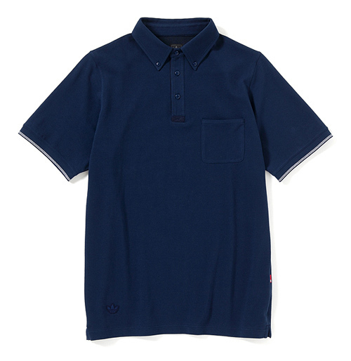 B&Y、BEDWIN、UNDEFEATEDの合同プロジェクト「B.B.U」第3弾 - BBU POLO SHIRTS ¥7,350(税込)