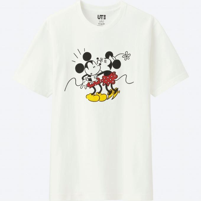 ユニクロ ut ミッキーマウスがテーマのtシャツ 長場雄ら6名の