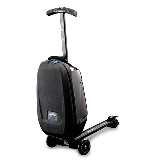 64696b6917 乗って運べるスーツケース「マイクロ・ラゲッジ(Micro Luggage)」 画像1 ...
