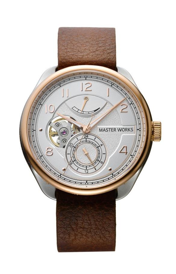 e88176d1cd ... ウォッチブランド「マスター ワークス」デビュー、高品質の日本製腕時計を洗練 ...