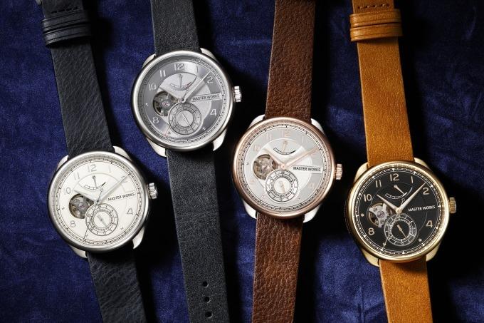 f0ba7635a8 ウォッチブランド「マスター ワークス」デビュー、高品質の日本製腕時計を洗練 ...