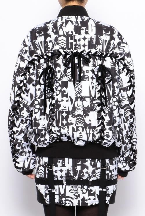 LACE UP MA-1 BLOUSON 68,000円+税(8月発売)