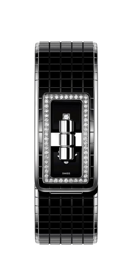 36e46e613d2a シャネルのブレスレットウォッチ「コード ココ」にブラックセラミック輝く新作モデル - 写真