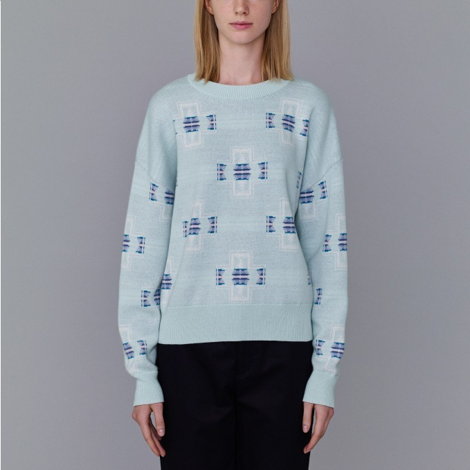 ジャカードセーター(ナバホ) 3,490円+税