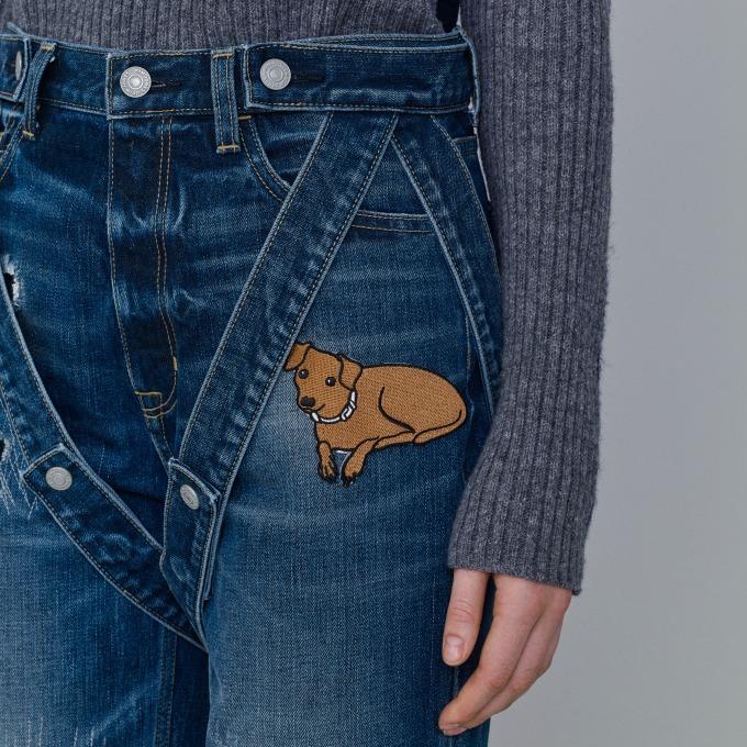 スリムテーパードジーンズ 3,490円+税