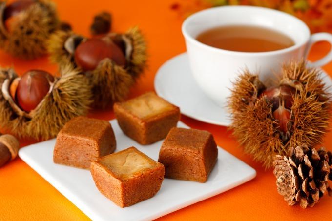 """<資生堂パーラー>焼栗のように""""ほっくり・香ばしい「秋のチーズケーキ(マロン)」"""