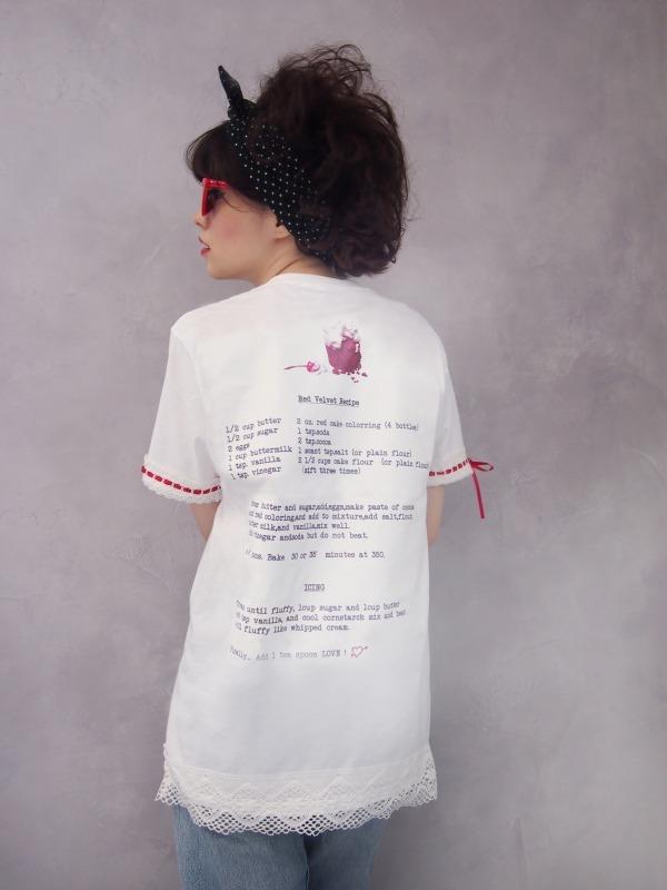 レッド ベルベット ドレス ティー 12,800円+税