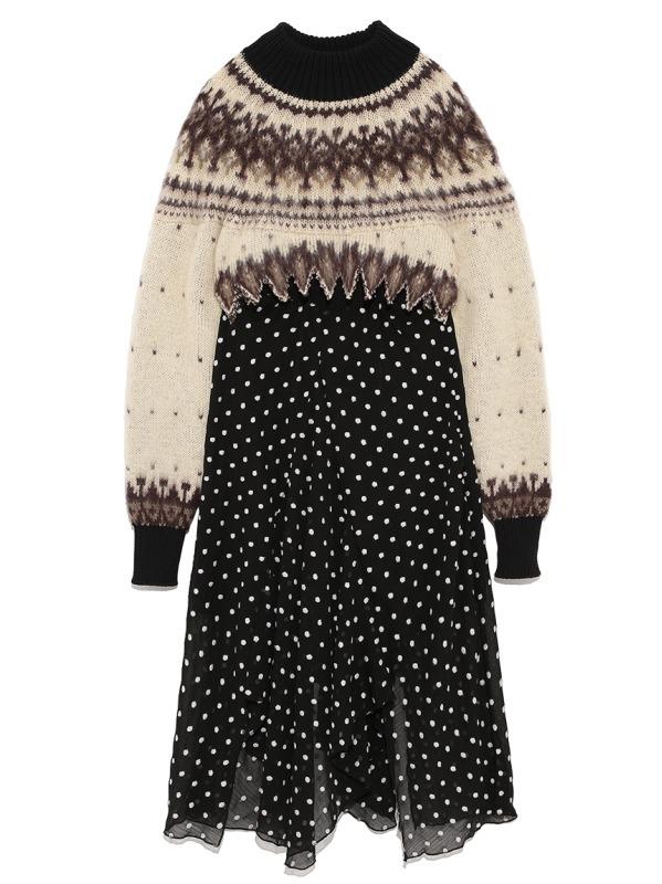 ノルディックセータードレス 27,500円+税