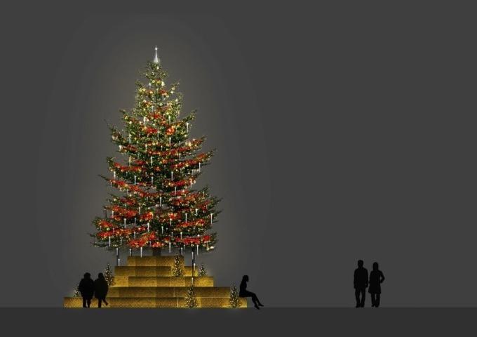 写真524六本木ヒルズのクリスマス冬の風物詩けやき坂