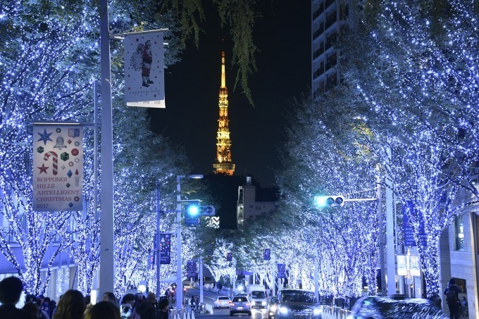 六本木ヒルズのクリスマス大人の夜を演出 最新ニュース速報