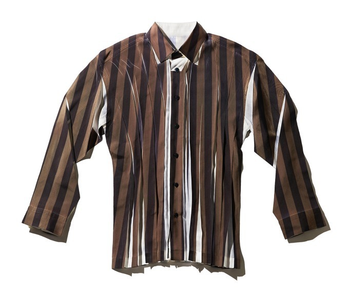 STRIPE WRINKLE SHIRT 38,000円+税