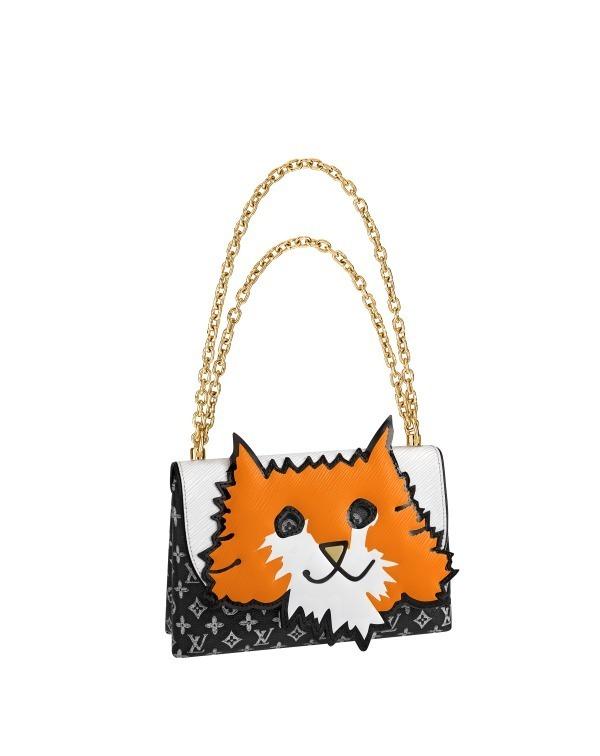 "brand new ccf6c cd59b ルイ・ヴィトンより""猫""&""犬""の新作バッグ、モノグラムに手描き ..."