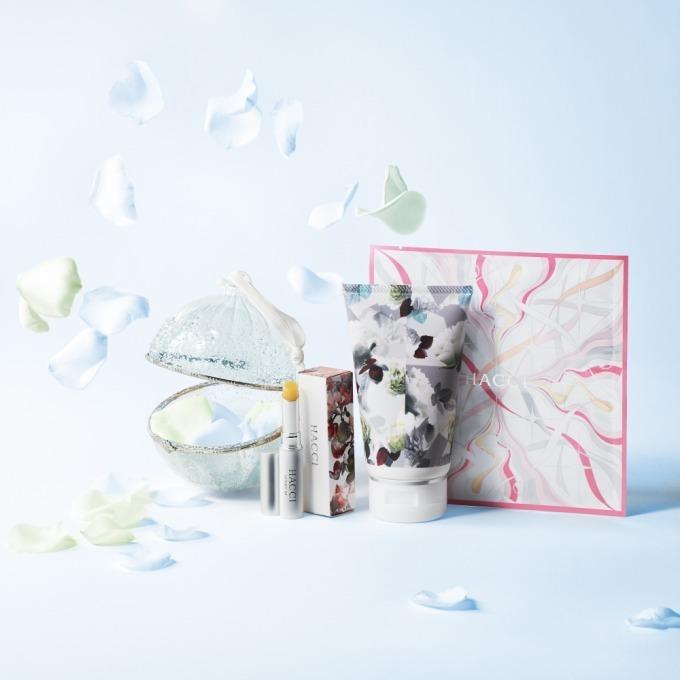 HACCIのクリスマスコフレ、薔薇香るボディクリームと人気リップスティックがセットに - 写真1