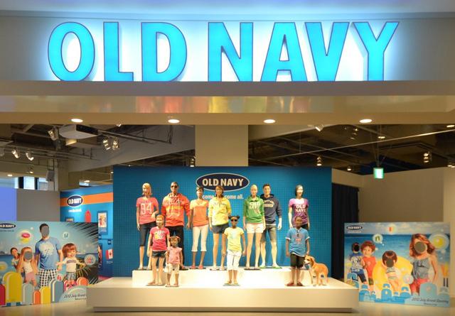 オールド ネイビー old navy が日本初上陸 北米以外で初の店舗