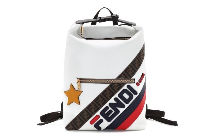 """100% authentic cbd80 12d14 フェンディ マニア」""""FENDI/FILA""""ロゴを配したメンズ&ウィメンズ ..."""