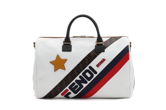 """100% authentic 38781 155cc フェンディ マニア」""""FENDI/FILA""""ロゴを配したメンズ&ウィメンズ ..."""