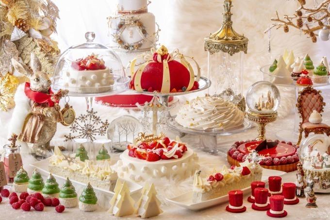 """<ヒルトン東京>""""アリスの世界""""が楽しめるクリスマスデザートビュッフェ"""