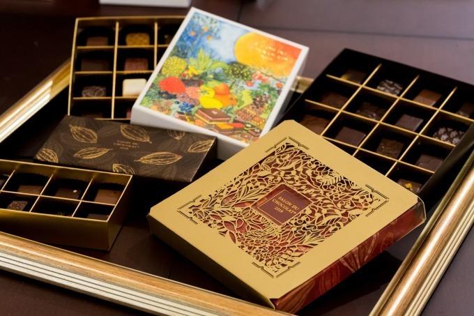 「サロン・デュ・ショコラ」限定セレクションボックス
