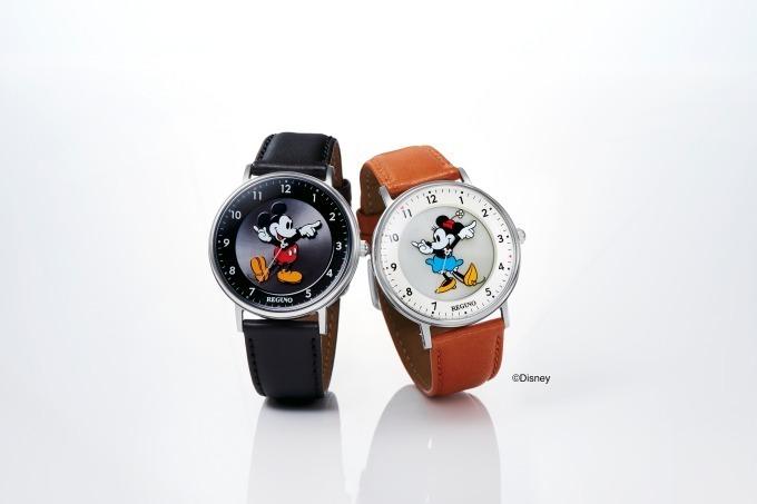 レグノ ソーラーテック シンプルシリーズ Disneyコレクション 「ミッキーマウス」モデル レグノ ソーラーテック シンプルシリーズ Disneyコレクション 「ミニーマウス」モデル 各22,000円+税