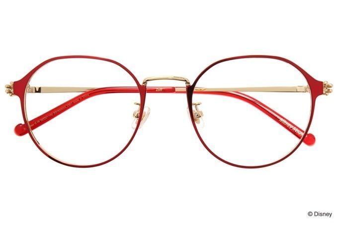 Zoffよりミッキーマウスが抱える新作メガネ手がモチーフの全9種類