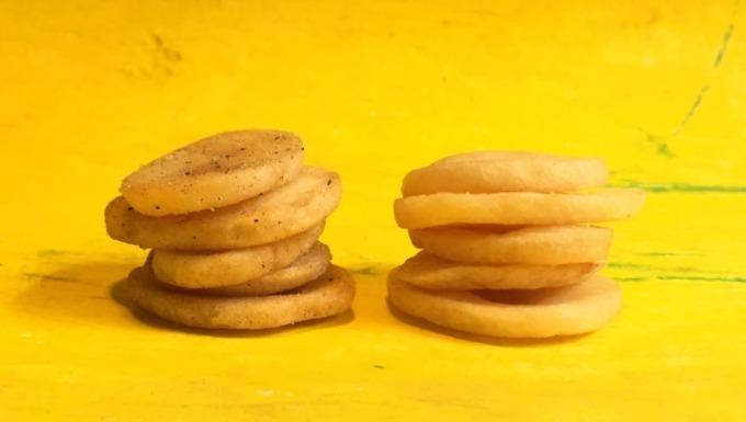 カルビー 通常の3倍の厚さの 最厚級 ポテチ ポテトデラックス 長野