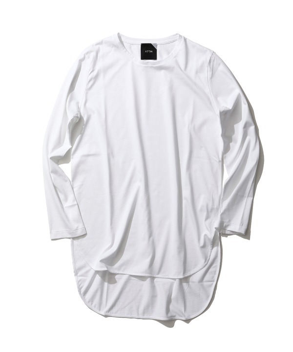 ラウンドヘム ロングTシャツ 16,000円+税