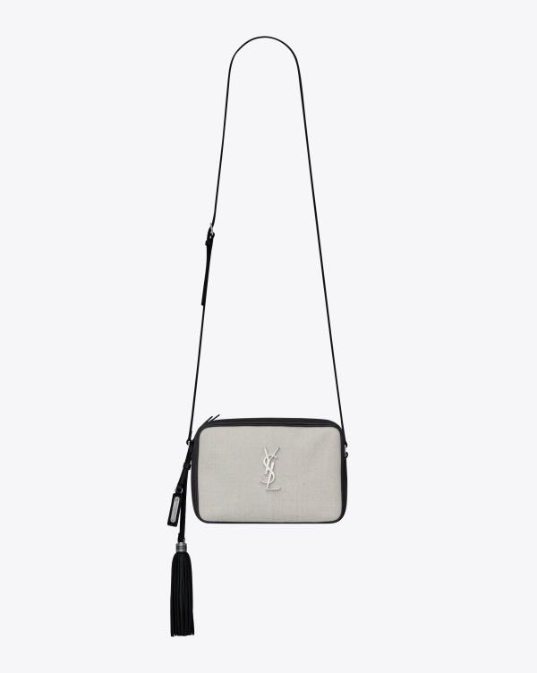 モノグラム・サンローラン ルー・サッチェル 135,000円+税 サイズ:H16 x W23 x D6cm