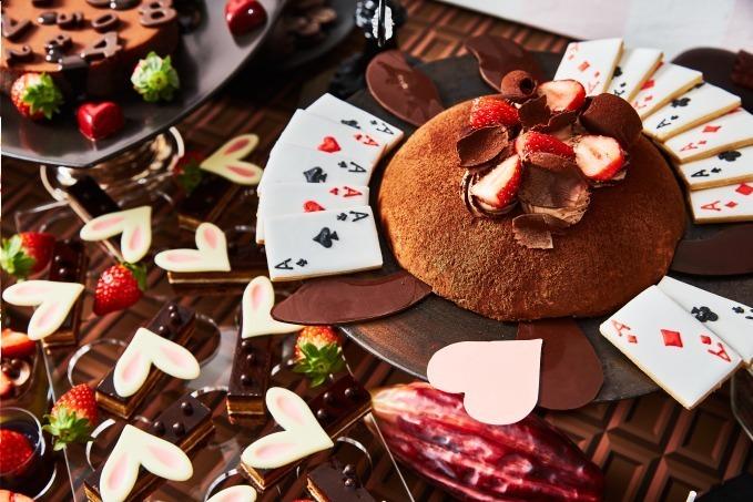 5638789963595 「アリスのスイートティーパーティー」苺×チョコのブッフェ、ホテル インターコンチネンタル ...