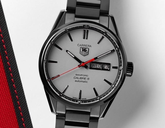 check out 8cb99 a1763 タグ・ホイヤー公式カスタム時計 - 軍用チタンコーティングの黒 ...