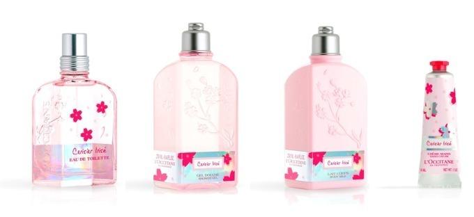 ロクシタン「チェリープリズム」果実と桜の甘い香りのボディミルク