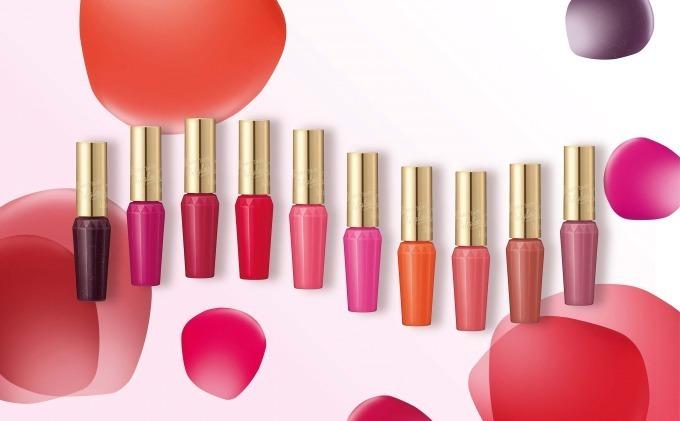 キス新美容液グロス「ブルーミングオイルグロス」花言葉から生まれたカラー