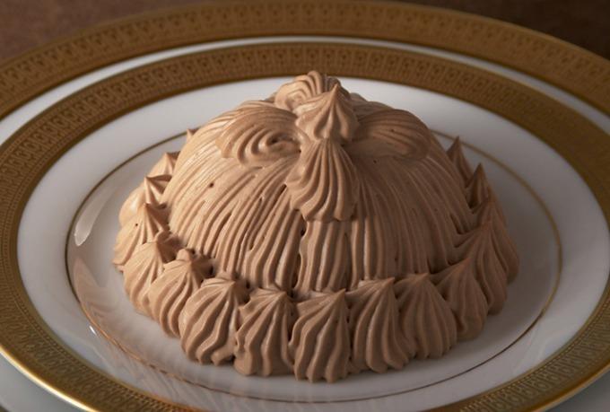 <東京會舘>「マロンシャンテリー ショコラ」栗&チョコレートクリームのとろける味わい
