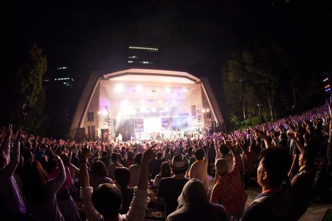 亀田誠治の企画による「日比谷音楽祭」日比谷公園で無料ライブ