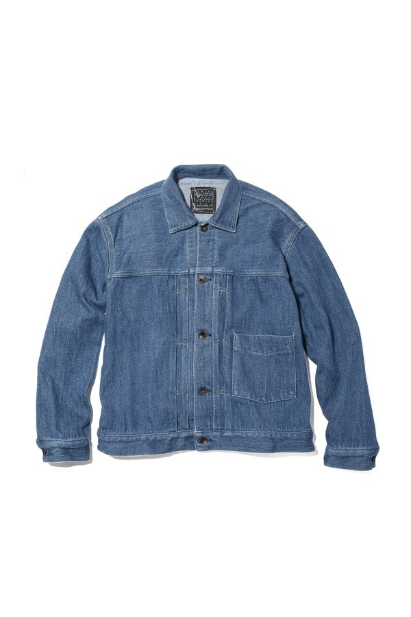 Loose Denim Big Jacket HERITAGE WASH 02 / Faded Indigo 32,400円(税込)
