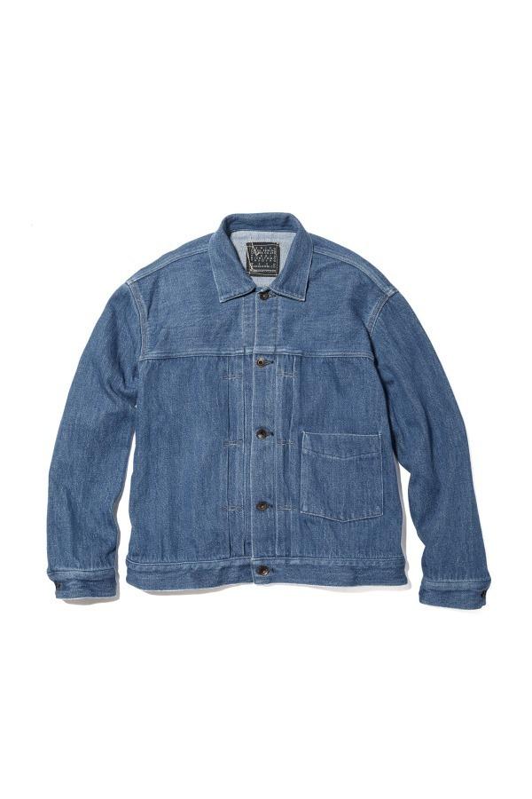 Loose Denim Big Jacket HERITAGE WASH 02 / Faded Indigo 32,400円(税込)