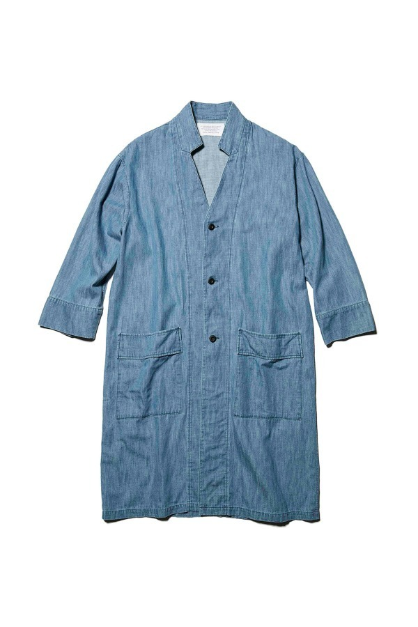 Denim Inner Collar Shirt Coat 34,560円(税込)