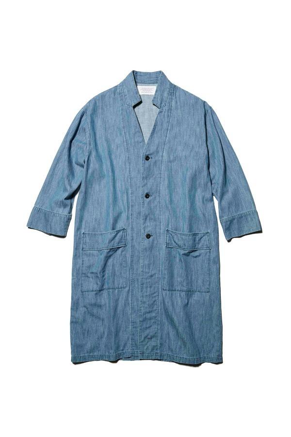 Denim Inner Collar Shirt Coat 34,560円(税込)