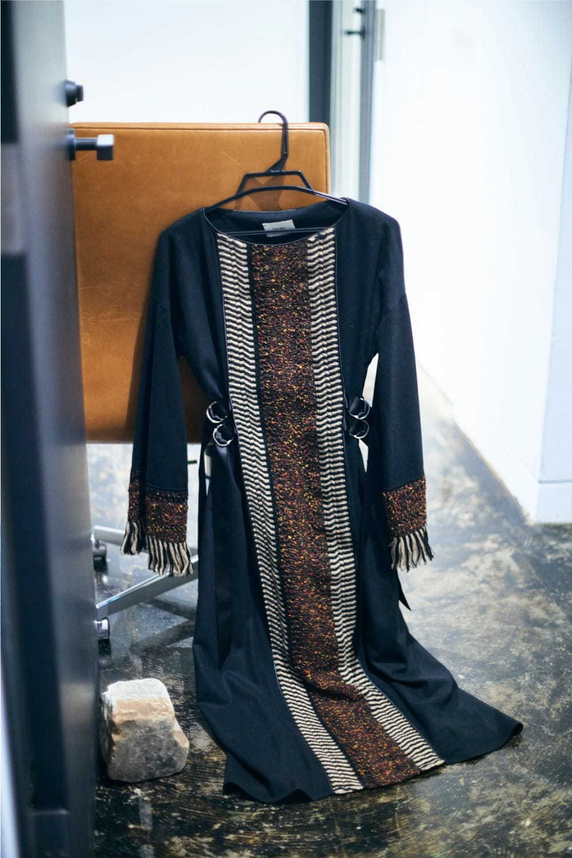 ウール レース ドレス(Wool Lace Dress)